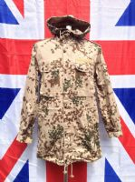 EX ARMY MILITARY GERMAN DESERT CAMO JACKET WITH HOOD